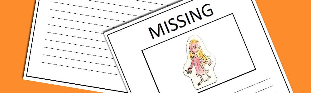 BFG Sophie Missing Poster