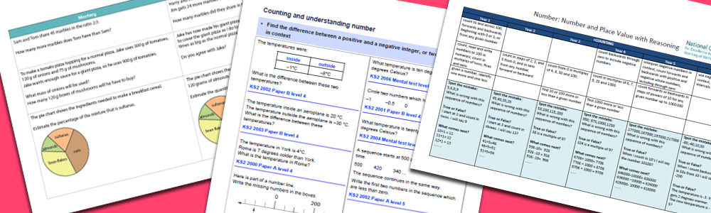 Primary Maths Mastery Documents