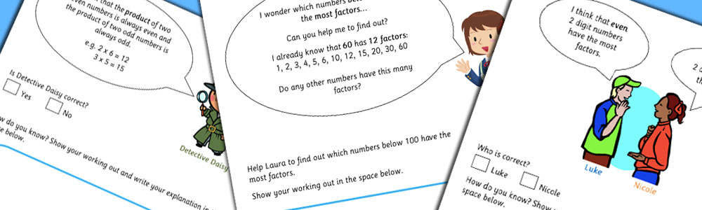 Maths Products Factors Investigation