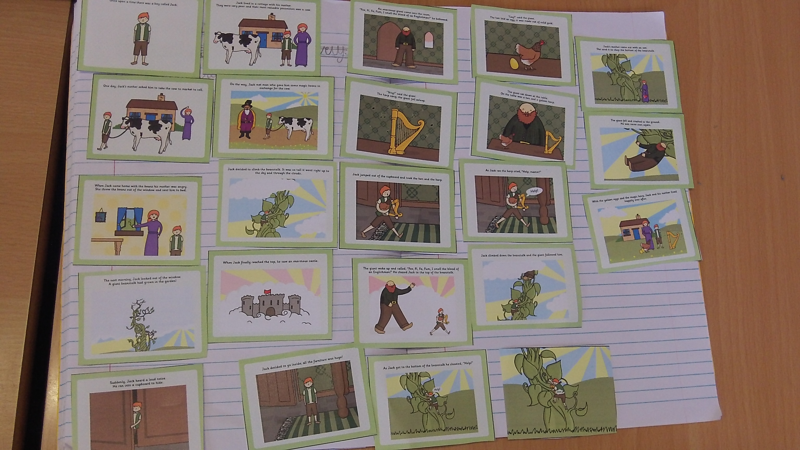 Twinkl Jack Beanstalk Story Sequence Resource