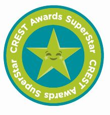 Crest Awards Superstar Award Sticker