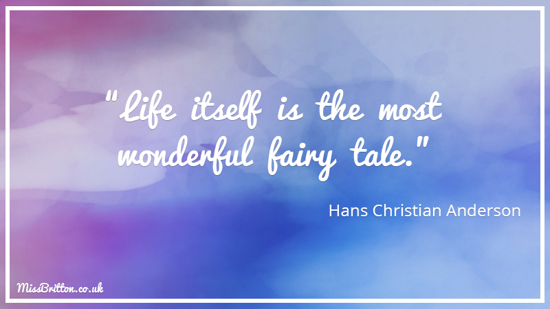 Hans Christian Anderson Classroom Literary Quote