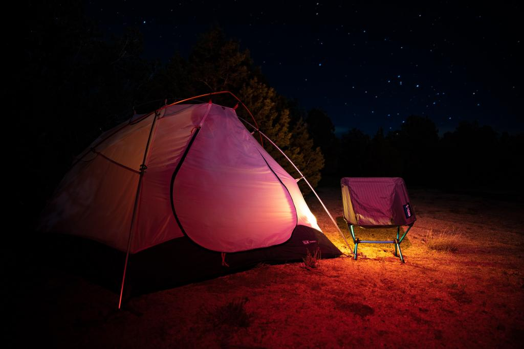 night camping tent